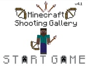 Minecraft Themed Shooting Gallery